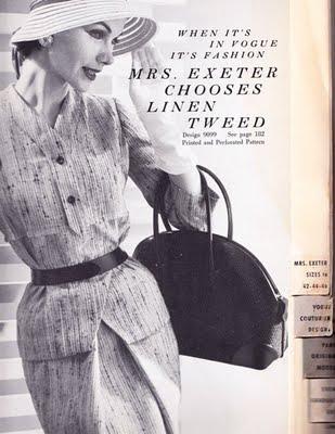 mrs exeter advantage in vintage