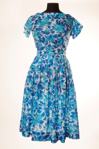 M&S 1950s 'New Look' Nylon Dress with floral print